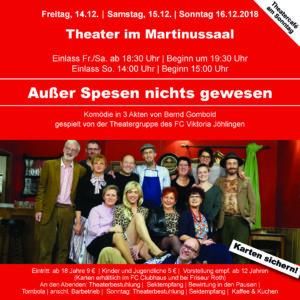 Thaterabende 2018 @ Martinussaal Jöhlingen | Walzbachtal | Baden-Württemberg | Deutschland