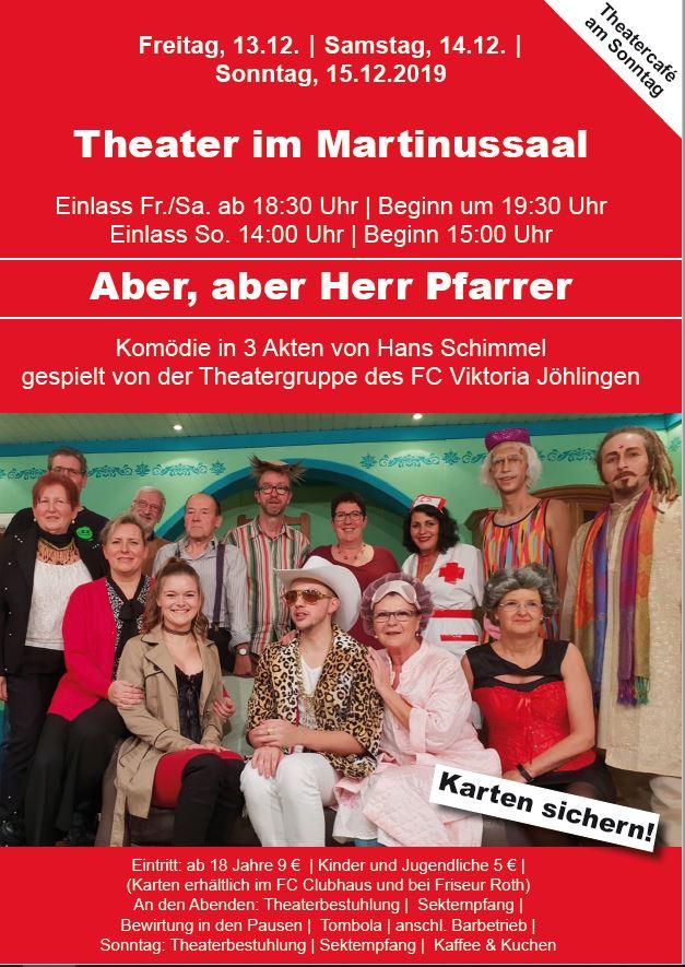 FC-Theaterabend @ Martinussaal Jöhlingen